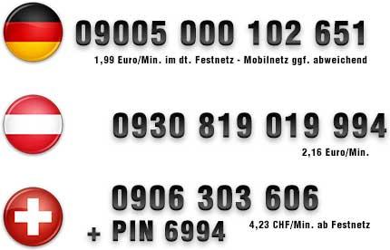 Heisser Telefonsex mit einer Studentin unter diesen Nummern